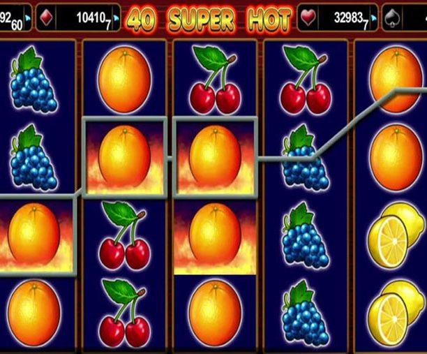 Игровой автомат 40 Супер